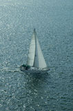 2条小船风帆 图库摄影