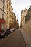 2条巴黎街道 免版税库存图片