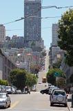 2条弗朗西斯科・圣街道 免版税图库摄影