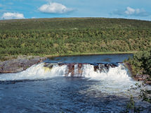 2条河流 免版税库存图片