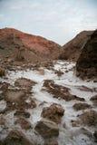 2条河盐 库存图片