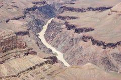 2条河视图 免版税库存照片