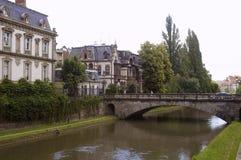 2条运河莱茵河 库存照片
