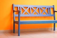 2条长凳内部 库存图片