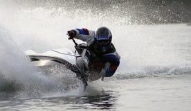 2架喷气机滑雪soderica 免版税图库摄影