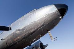 2架飞机dc推进器葡萄酒 库存照片