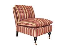 2查出镶边的椅子 免版税库存照片