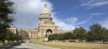 2栋国会大厦全景部分状态得克萨斯 免版税库存照片