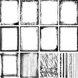 2框架纹理 库存例证
