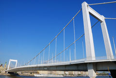 2桥梁伊丽莎白 库存照片