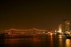 2桥梁更加极大的新奥尔良 库存图片