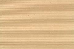 2棕色纸板凹线纸张 图库摄影
