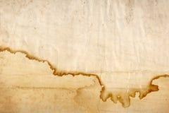 2棕色老纸张 库存照片