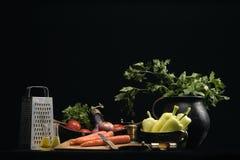 2棵蔬菜 免版税库存照片