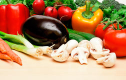 2棵表蔬菜 免版税图库摄影
