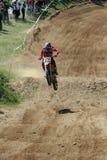 2次摩托车越野赛nikolay速度yovchev 免版税库存照片
