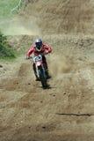 2次摩托车越野赛petar petrov速度 库存图片