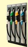 2气体加油站 免版税图库摄影