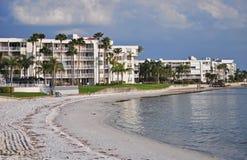 2沿海佛罗里达居住的彼得斯堡st 免版税库存图片