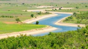 2波斯尼亚通道没有水 免版税库存照片