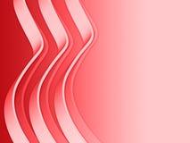 2波浪的线路 免版税图库摄影