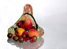 2浆果花瓶 免版税库存照片