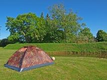2海岸帐篷 免版税库存图片