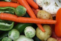 2清洗了五颜六色的新鲜蔬菜 库存图片
