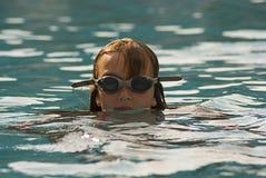 2游泳者 免版税库存照片