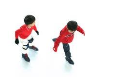 2滑冰 免版税库存图片