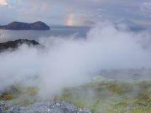 2火山 库存图片