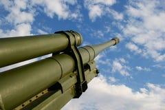 2火炮 免版税图库摄影