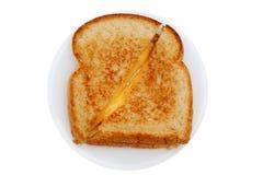 2烤的干酪 免版税库存照片
