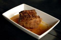 2烤肋条肉 免版税库存照片