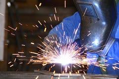 2焊工 免版税库存照片