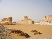 2片沙漠埃及人 免版税库存照片
