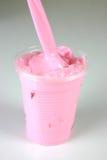 2牛奶草莓 图库摄影