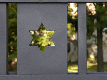2犹太的墓地 免版税库存照片