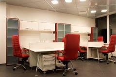 2现代晚上办公室 免版税库存图片