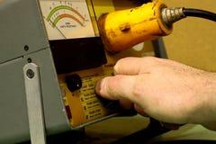 2电气设备测试 免版税库存照片
