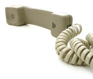 2电话 免版税图库摄影