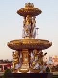 2神金子被铸造的pattaya泰国 免版税图库摄影