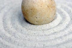 2禅宗的关闭小卵石 免版税图库摄影