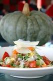 2秋天新鲜的沙拉 免版税库存照片