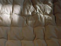 2种织品亚麻布 免版税图库摄影