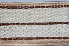 2种织品手工制造柳条编织了 库存图片