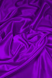 2种织品紫色缎丝绸 免版税库存照片