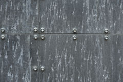 2种金属结构 免版税库存图片