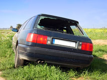 2窃取的汽车 库存照片