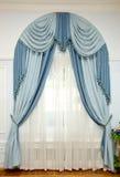 2窗帘 免版税图库摄影